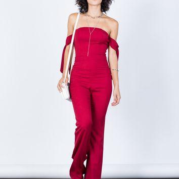 Sylvia Tie Up Jumpsuit