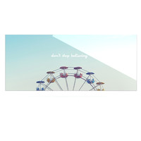 """Libertad Leal """"Don't Stop Believing"""" Ferris Wheel Luxe Rectangle Panel"""