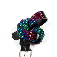 Anodized Stud Belt