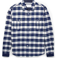 White Mountaineering - Plaid Woven-Cotton Shirt | MR PORTER