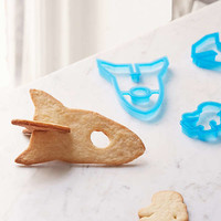 Spaceship 3D Cookie Mold | Urban Outfitters