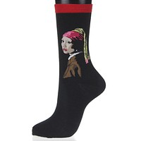 Art Socks (4 Options) - Women's Crew and Ankle Socks