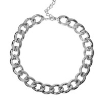 Silver Link Chain Necklace (LAST ONE)