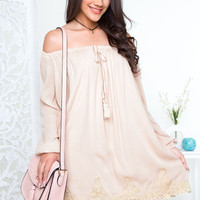 From Eden Off The Shoulder Dress