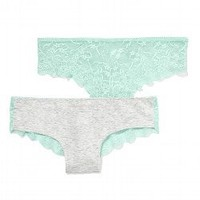 Lace Back Cheekster Panty - Victorias Secret PINK - Victoria's Secret