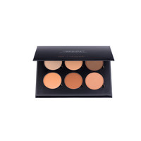 A best-selling set of three powder highlight and contour shades. Create the illusion of higher cheekbones, a slimmer nose, softer jawline, or smaller forehead.
