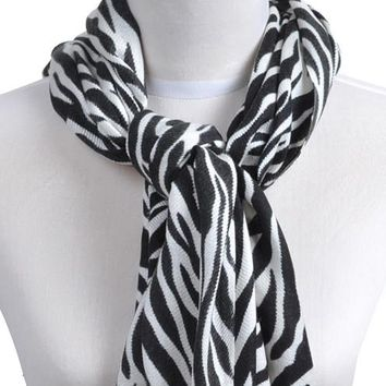 Animal Print Pashmina Scarves