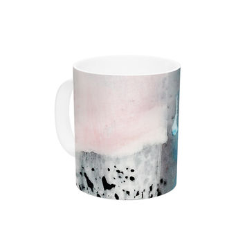 "Iris Lehnhardt ""Abstract Color"" Pastel Painting Ceramic Coffee Mug"