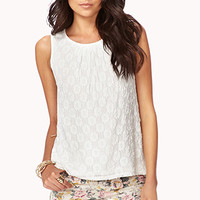 Essential Floral Lace Top