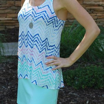The Mint Julep Skirt