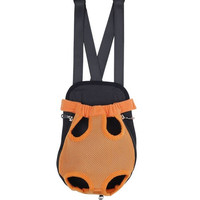Tangerine Mesh Pet Pouch Carrier