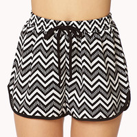Zigzag Dolphin Shorts | FOREVER 21 - 2000051749