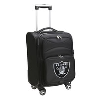 Oakland Raiders 20-in. Expandable Spinner Carry-On (Black)