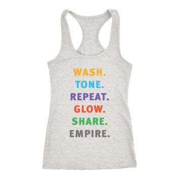 Wash Tone Repeat Rodan and Fields Conversation Starter Tee Racerback Tank