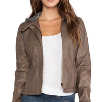 Jack by BB Dakota Vincent Jacket in Brown