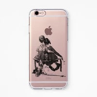 iPhone Rubber Case - First Love - iPhone 6s case, iPhone 6 case, iPhone 6s+ case, iPhone 6+ case - Clear Flexible Rubber Silicone case R01