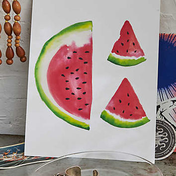 Perspectives in Print Watermelon Print , Multi