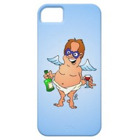 Fallen Christmas angel iPhone 5 Covers