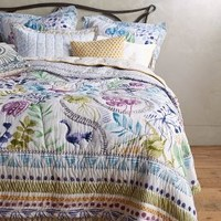 Zanzibar Quilt by Anthropologie Multi
