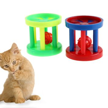 Plastic Rolling Bell For Cat