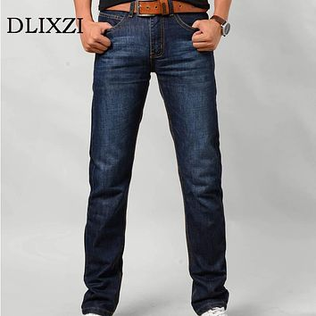 men slim Jeans high quality brands straight denim overalls male trousers fashion classic plus size 6xl  boyfriend casual pants