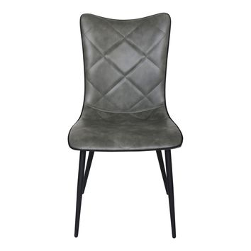 Josie Dining Chair Grey-Set Of Two