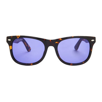 KOTA - TORTOISE FRAME - PURPLE COLOR THERAPY LENS