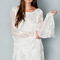 Show Me Your mumu Knockout Dress ~ Leafy Luxe White