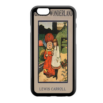 Alice in Wonderland Disney Cover Book iPhone 6 Case