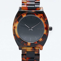 Nixon Time Teller Acetate Watch in Tortoiseshell - Urban Outfitters