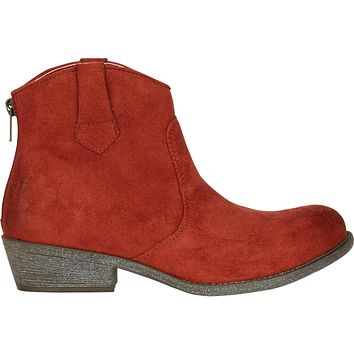 Billabong Women's Izzy Western Ankle Boots | Cinnamon