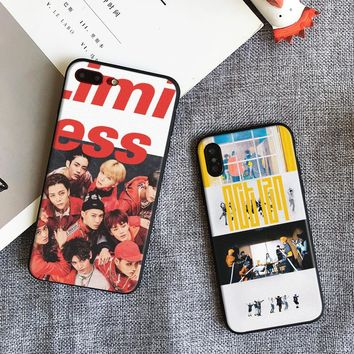 NCT 127 Kpop Boy group Coque tpu Soft Silicone Phone Case Cover Shell For Apple iPhone 5 5s Se 6 6s 7 8 Plus X XR XS MAX