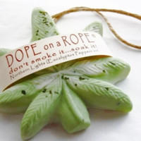 BEST SELLER Northern Lights Dope on a Rope Soap - Eucalyptus Peppermint Essential Oils