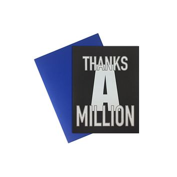 Cards- Thanks A Million