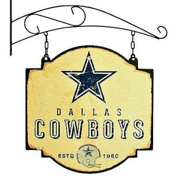 Dallas Cowboys NFL Indoor/Outdoor Wall Mount Bar and Tavern Sign