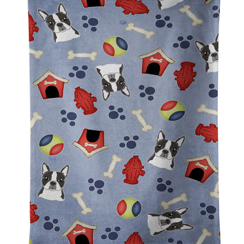 Dog House Collection Boston Terrier Kitchen Towel BB3982KTWL