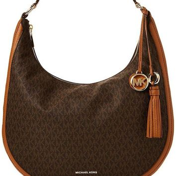 ONETOW MICHAEL Michael Kors Lydia Logo Shoulder Bag