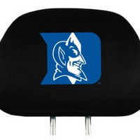 Duke Blue Devils Headrest Covers