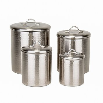 Hammered Brushed Nickel Pantryware Collection by Old Dutch International