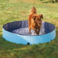 "PetEdge Guardian Gear Splash About Dog Pools, Sky Blue, Small; 8"" x 32"""