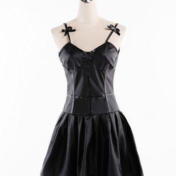 The Future Diary Gasai Yuno Black Dress Cosplay Costume