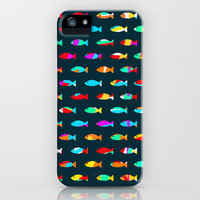 Swimming with the fishes - 魚類 iPhone Case by Budi Satria Kwan | Society6