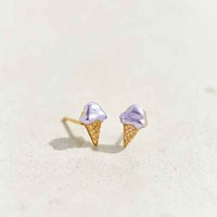 Diament Jewelry X Urban Renewal Tiny Ice Cream Stud Earring- Gold One