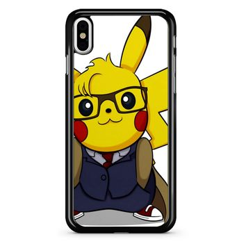 Pikawho Pikachu Dr Who iPhone X Case