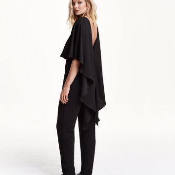 H&M Jumpsuit with Cape $59.99