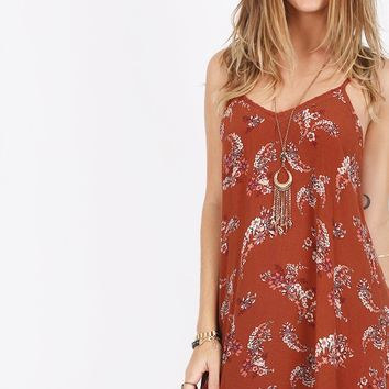 Still Into You Floral Dress