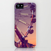 Midway Sunset iPhone & iPod Case by CAPow!