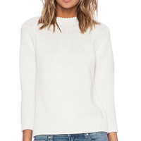DemyLee Vivi Sweater in White