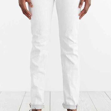 Big John Slim Tapered Stone White Selvedge Jean- Ivory