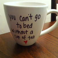 "One Direction ""Little Things"" lyric mug"